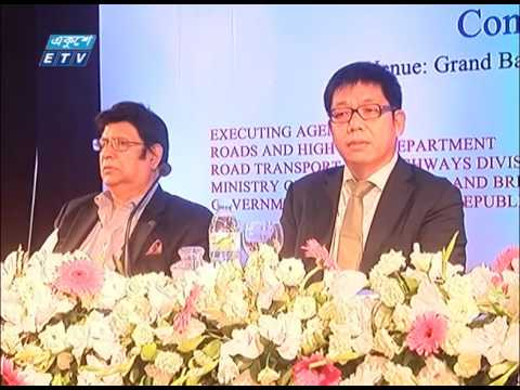 Dhaka- Sylhet highway 4 Lane Report 2016