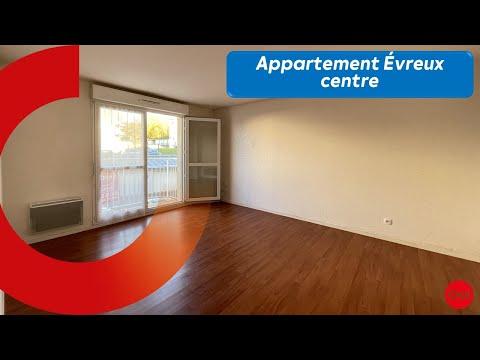 Appartement à louer Évreux - 42 m² - 1 chambre (visite commentée)