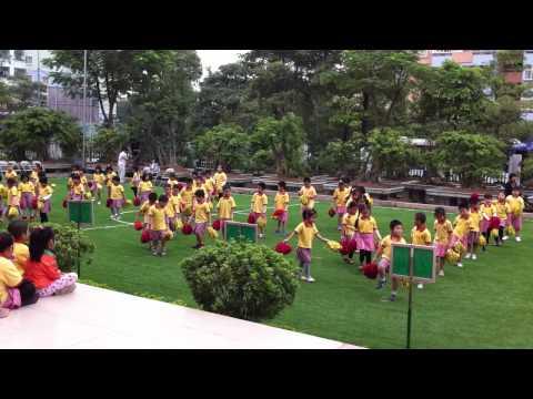 Đồng diễn thể dục - HKPĐ 2011 (Trường tiểu học Ngôi sao Hà Nội)