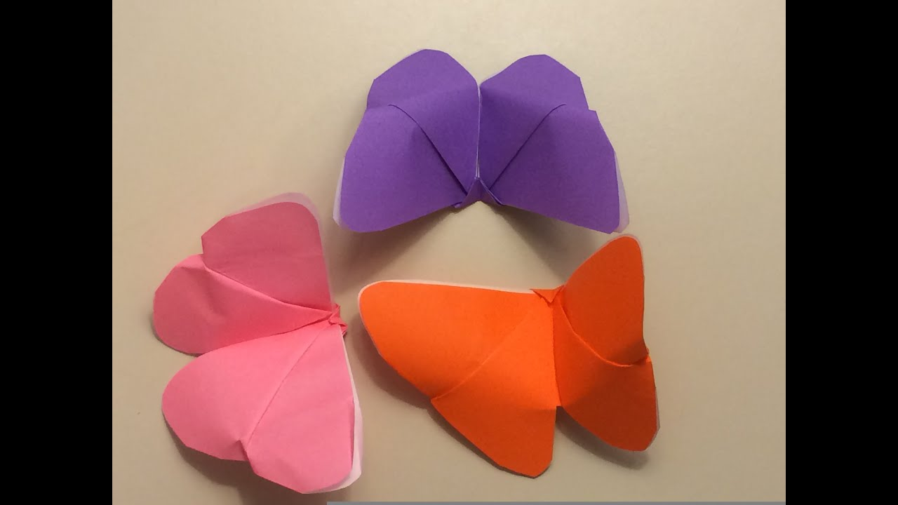 Origami for Beginners - Butterfly - YouTube - photo#40