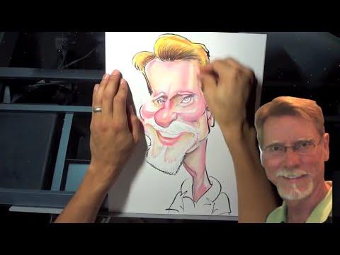 Caricature #17 - Prismacolor