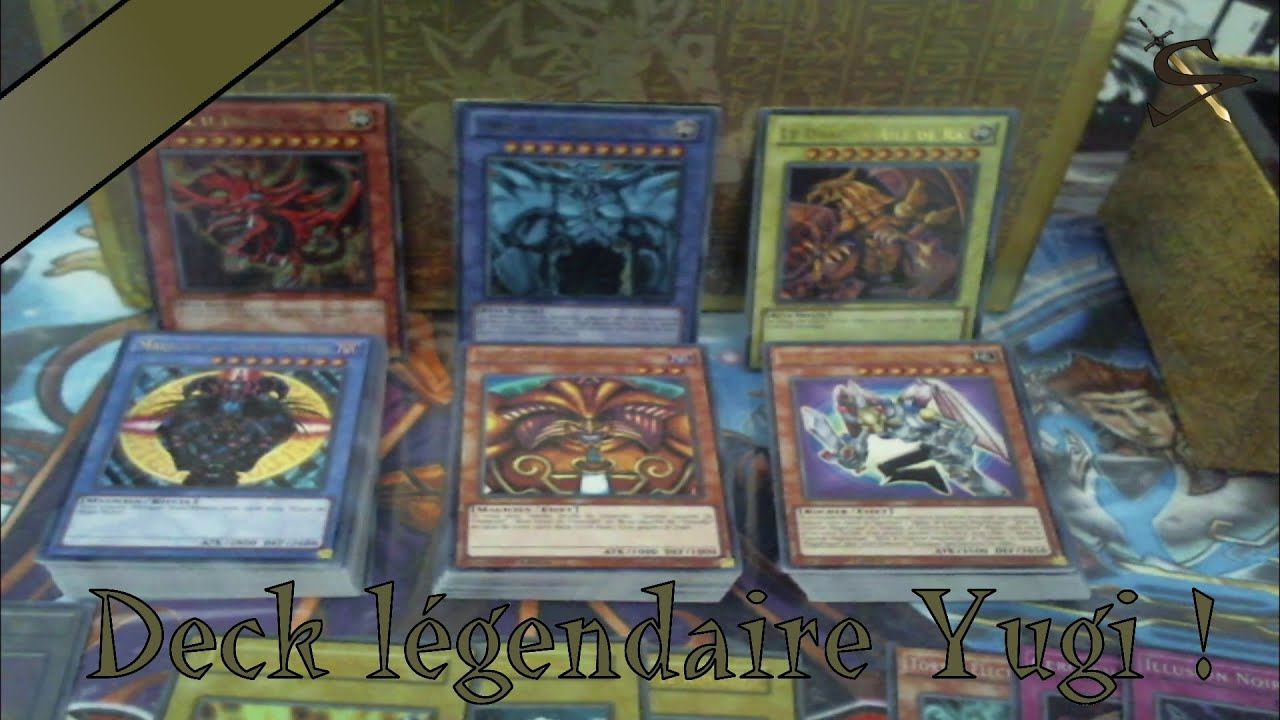 yu gi oh ouverture deck l gendaire yugi fr youtube. Black Bedroom Furniture Sets. Home Design Ideas