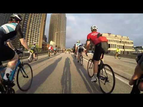 Spring Cycle 105km in a 6 minute time-lapse