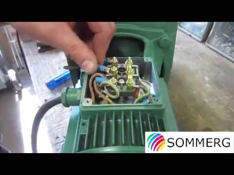 Three-phase Self-priming Pump - Cable Assembly