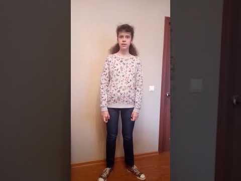 """Рычихина Александра.15лет . Стихотворение """"В осеннем лесу"""" Николая Рубцова."""