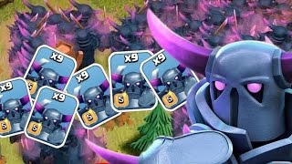 "Clash of Clans - ""MAX PEKKAS"" 27 Max Level Pekkas! So Many Pekkas!"
