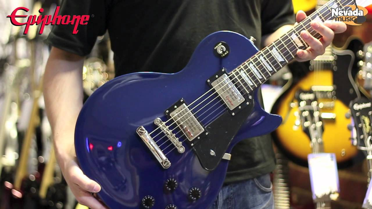 Epiphone limited edition les paul studio deluxe electric guitar.