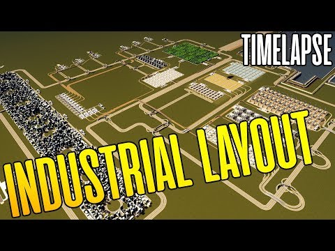 HIGH CAPACITY LAYOUT Industries Timelapse - The Industrial Project Episode Timelapse