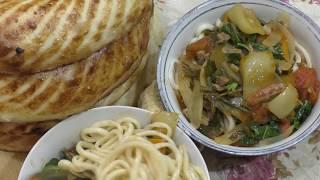 Как приготовить лагман в домашних условиях. Лагман из уйгурской лапши с говядиной.Вкусный рецепт.