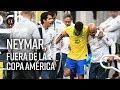 Neymar, fuera de la Copa América por lesión | Noticias| El Espectador