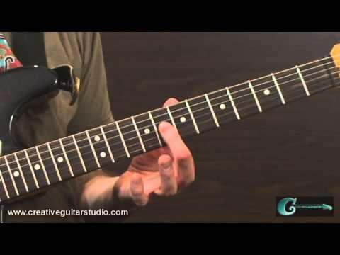 RHYTHM GUITAR: Upper Three-String Triads