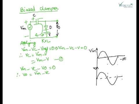 Circuit Diagram Of Clipper And Clamper | Clamper Clamper Circuit Diode Clamper Circuit Clamper Electronics