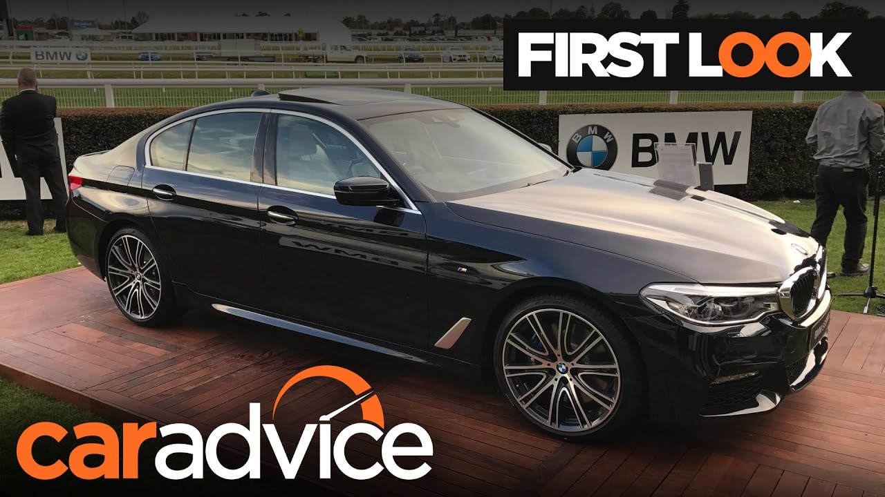 2017 bmw 5 series g30 first look review caradvice youtube. Black Bedroom Furniture Sets. Home Design Ideas