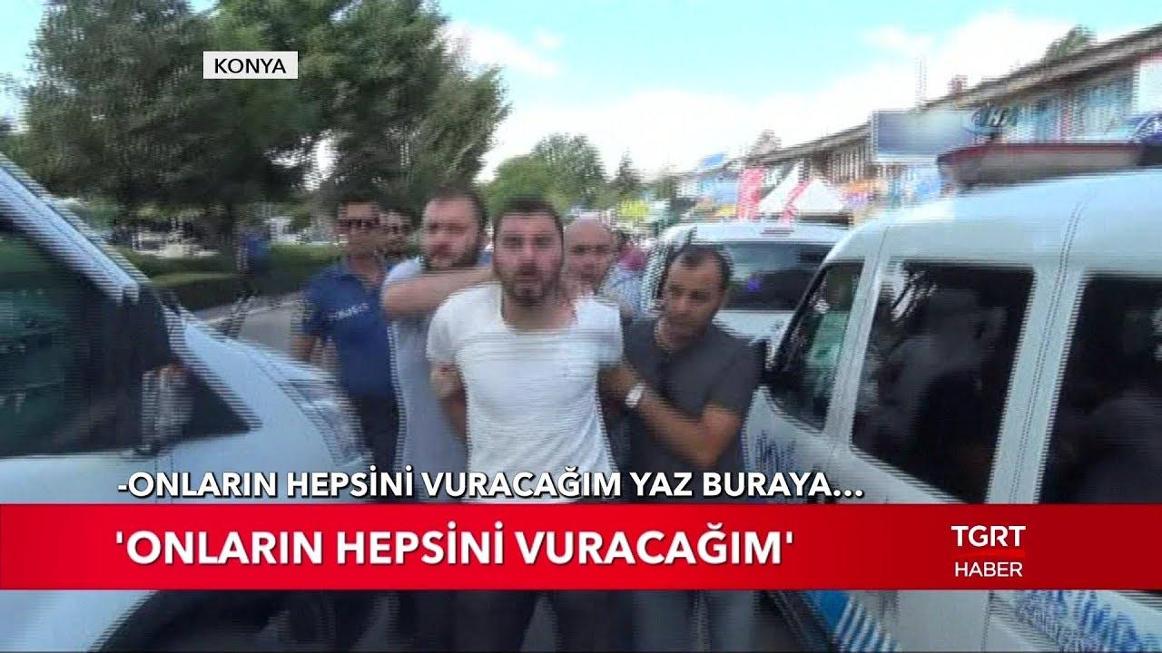 Konya'da Silahlı Kavga: