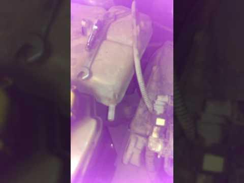 Форд фиеста 1.4 замена термостата