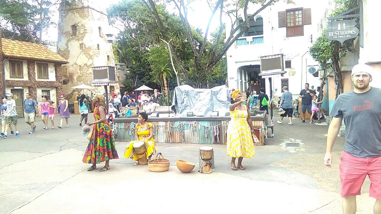 African Song and Dance at Disney's Animal Kingdom