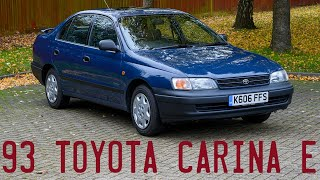 1993 Toyota Carina E goes for a drive