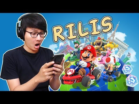Muncul Juga Di Playstore - Mario Kart Tour (Android)