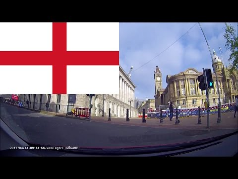 Driving in England - Birmingham 1 hr 15 mins
