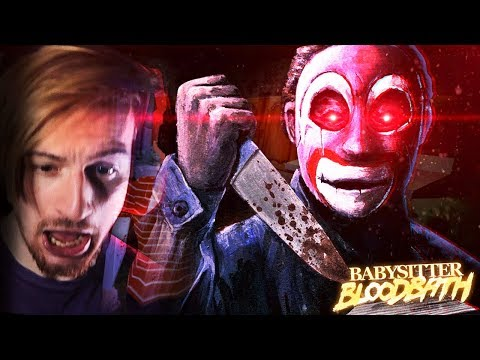 SOMEONE BROKE INTO THE HOUSE.. || Babysitter Bloodbath (ENDING) - Puppet Combo horror game thumbnail