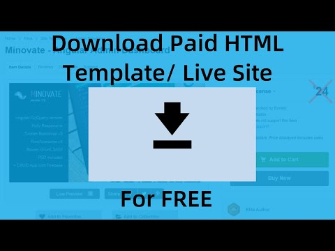 How To Download Source Code Of Website: Download Paid Html Template For Free | Learn In 4 Mins
