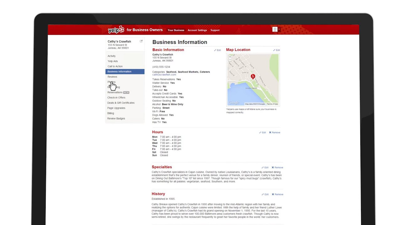 School Of Yelp Creating A Great Yelp Business Page Youtube