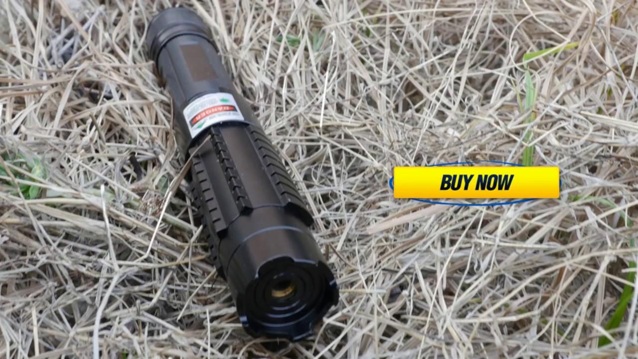 5000mw 532nm Beam Light Green Laser Pointer Pen