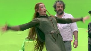 On the Set of THE HOBBIT 3 [Making-Of Pt # 2]