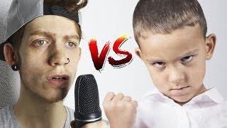 Batalla de RAP vs NIÑO de 10 AÑOS y lo Trolleo!