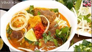 BÚN BÒ BẠC LIÊU Instant Pot - Cách nấu Bún Bò Sate sa tế thơm ngon đãi Khách by Vanh Khuyen
