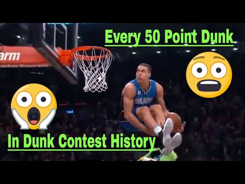 Every 50 Point Slam Dunk In NBA Dunk Contest History