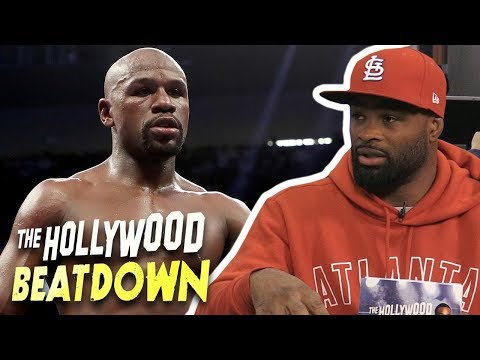 Tyron Woodley Says He's Training Floyd Mayweather For His UFC Debut | The Hollywood Beatdown