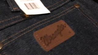 видео Мужские джинсы Wrangler