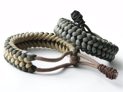 "How to Make a ""Mad Max Style"" Sanctified Paracord Bracelet-Bonus:Cobra/King Cobra ending knot"