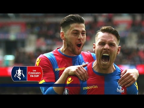 All Goals - Crystal Palace's Road to 2016 Emirates FA Cup Final | Goals & Highlights