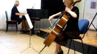 Feher Gyorgy Miklos Requiem cello piano 3. 4. movements