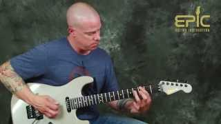 Learn Tornado Of Souls by Megadeth pt1 guitar song lesson rhythms riffs chords rust in peace