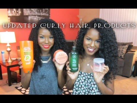 Updated Curly Hair Products 2014