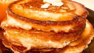 The Fluffiest Pancakes You'll Ever Eat