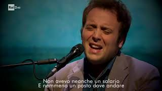 "Rafael Gualazzi canta  ""On the road again"" - Woodstock, Rita racconta"