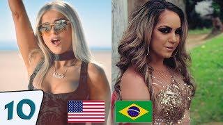 10 Cópias Brasileiras De Músicas Internacionais 🎧