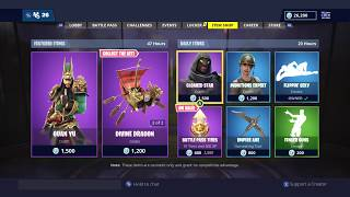 GUAN YU SKIN OUT NOW! | FORTNITE ITEM SHOP TODAY! | FORTNITE | NEW SKIN (2/12/2018)