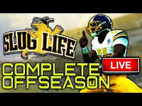 SLUGS COMPLETE OFFSEASON LIVE!! 25K GRIND!!