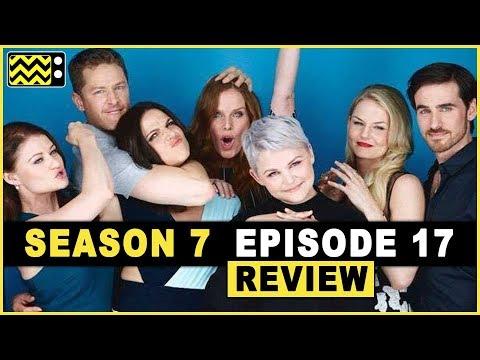 Once Upon A Time Season 7 Episode 17  w Kip Pardue  AfterBuzz TV
