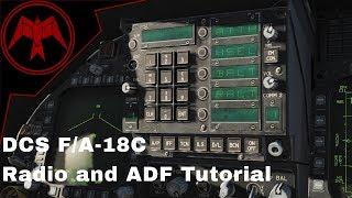 DCS F/A-18c Hornet Radio and ADF Tutorial