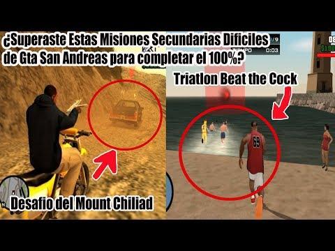 Top 5 Misiones Secundarias mas Dificiles de GTA San Andreas (Misiones para el 100%)
