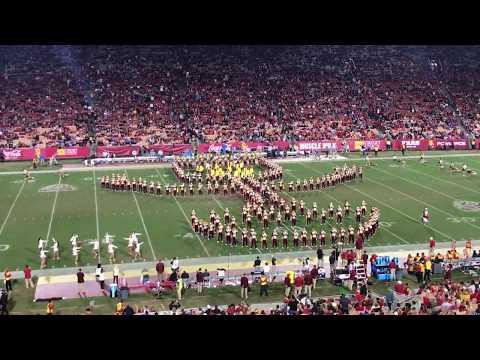 The Spirit of Troy Halftime Show USC vs UCLA 2017