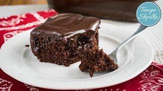 Мега Шоколадный Пирог с Ганашем | Chocolate Cake with Ganache | Tanya Shpilko