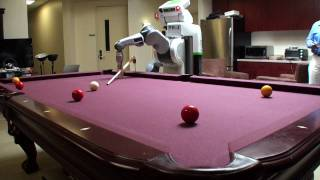 PR2 Robot Plays Pool