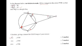 Circle Theorems (CXC CSEC and GCSE Math Revision)